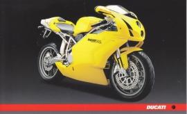 Ducati 749s, continental size postcard, English language