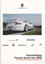 911 Sports Cup Germany, 24 pages, 02/2008, German language