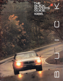 Program 1986, all models, 48 pages, 86-BA003, USA