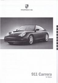 911 Carrera pricelist, 72 pages, 08/2001, WVK 200 311 02, German