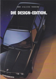316i/318i Touring Design-edition brochure, 12 pages, A4-size, 2/1993, German language