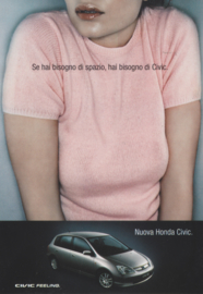 Civic , free card, DIN A6, Citrus Promotion Italy, # 0648