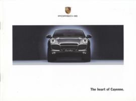 Cayenne S/Turbo intro brochure, 04/2002, 24 pages, WVK 402 923 02, USA, English