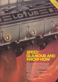 Motor Magazine Supplement, 24 pages, 04/1980, factory-issued, English language