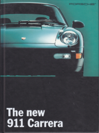 911 Carrera brochure, 44 pages + specs. 4 pages, 11/93, hard covers, English