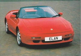 Elan Convertible,  A6-size postcard, about 1990, Dutch issue