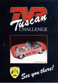 Tuscan Challenge Convertible folder, 4 pages, English language, 1988
