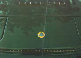 Lotus portfolio, 4 pages, DIN-A4 size, c1990, English language