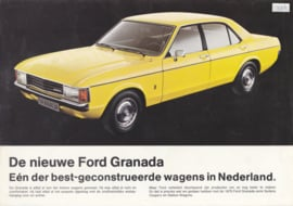 Granada brochure, 4 pages, 2/1975, Dutch language