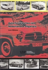 Dutch photocards about cars 1958-1965, 56 pages, Dutch language, ISBN 978-90-6815-054-4