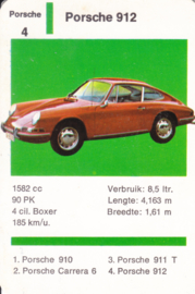 912 Coupé - number 4 - size 10 x 6,5 cm, Dutch language