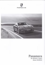 Panamera pricelist, 140 pages, 06/2012, German
