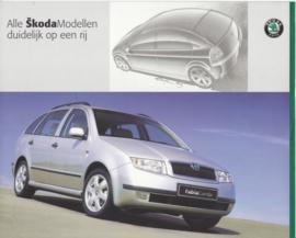 Program brochure, 8 pages, Dutch language, 2001