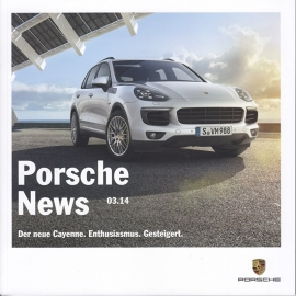 News 03/2014 with Cayenne, 58 pages, 09/2014, German language
