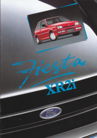Fiesta XR2i brochure, 16 pages, 12/1990, Dutch language