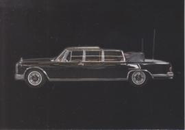 Mercedes-Benz 600 Landaulette 1981, Classic Car(d) of the month 10/2003, Germany