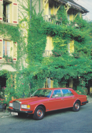 Eight, DIN A6-size postcard, 1985, English language