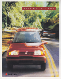 Full line brochure, 8 pages, 1995, USA