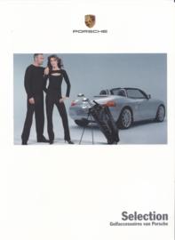 Selection Golf brochure, 8 pages, 01/2002, Dutch language