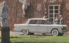 2300 Lusso, standard size, Italian postcard, undated, about 1965