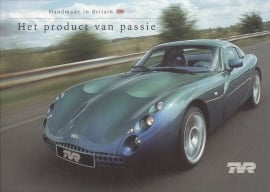 TVR Tuscan/Morgan both 3 models, 6 page brochure (A4), about 2002, Dutch language *