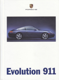911 Carrera brochure, 124 pages, 02/1998, hard covers, German