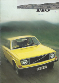 145 Sedan & Estate brochure, 20 pages, Dutch language, 02/1971