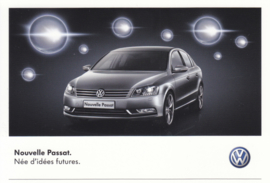 Passat Sedan postcard,  A6-size, French language