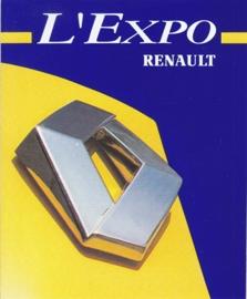 Renault L'Expo, sticker, 9,5 x 11,5 cm