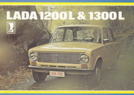 1200 L/1300 L Sedan brochure, 8 pages, about 1978, Dutch language (Belgium)