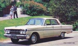 Comet 404 Sedan, US postcard, standard size, 1964
