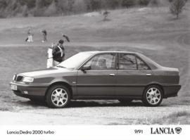 Lancia Dedra 2000 turbo - factory photo - 09/1991