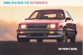 Reliant Sundance, US postcard, continental size, 1988