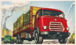 Diesel Truck, standard size, factory issue, 5 languages, about 1960, # 7