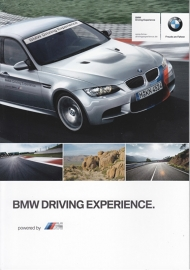 Driving Experience brochure, 8 pages, 01/2012, # 7891306, English/German