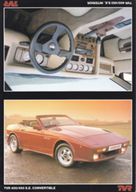 400/450 S.E. Convertible, stiff sheet, English language, about 1987 *