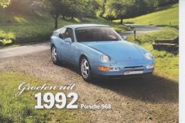 968 Coupe 1992, Classic, Dutch, A6-size