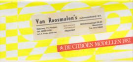 Program brochure, 32 pages, 1/3rd A4-size, 1982, Dutch language