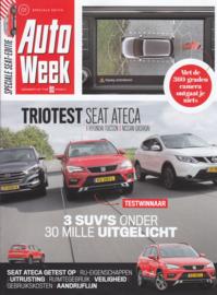 Ateca multitest reprint Autoweek, 12 pages, 2016, Dutch language