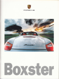 Boxster brochure, 30 pages, US market, 1998, English %
