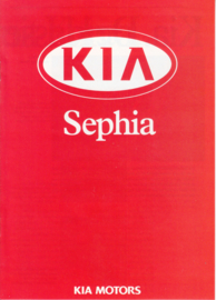 Sephia brochure, 8 pages, about 1998, Dutch language
