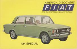 124 Special, standard size, US postcard, 1973