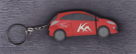 Ford Ka USB-stick with press information and photos, 2008, red color