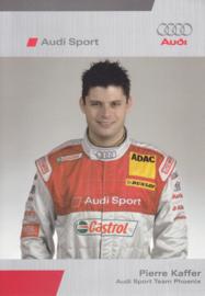 DTM racing driver Pierre Kaffer, unsigned postcard 2006 season, German language