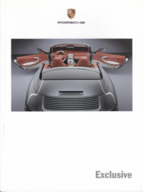 Exclusive program all model brochure 2004, 36 pages, MKT 001 00018 04, USA, English