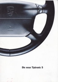 911 Tiptronic S  brochure, 36 pages, 08/94, German
