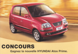 Atos Prime, DIN A6-size postcard, French language,  2004, Swiss