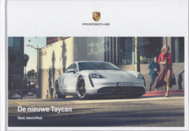 Taycan Turbo S/Turbo, 92 pages, 10/2019, Dutch language, hard covers