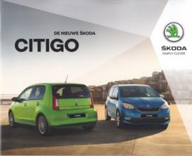 Citigo brochure, 44 pages, # SKO18B100, 2018, Dutch language