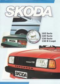 Program 105/120/130/R brochure, 4 pages, Dutch language, about 1985